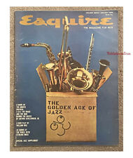 ESQUIRE Magazine January 1959 The Golden Age of Jazz Sterling Moss FDR Mort Sahl