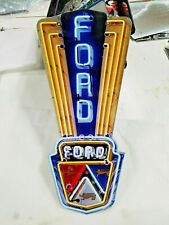Neon style custom Face Mask Ford Jubilee Mustang Truck Garage 1953 tractor car