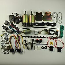 New 80 lb Remote Shaved 2 Door Handle Popper Kit TRUNK KIT INCLUDED remotes