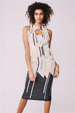 NEXT DRESS SIZE 16 Blush Floral Bodycon Dress