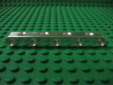 9 unit long aluminum beam with holes on all sides. Works with Lego Technic