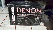 Denon drc.600i component speakers  rare old school bnib