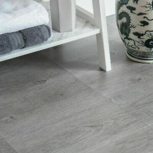 Grey wood floor Self Adhesive Vinyl Floor Tiles pack of 11 tiles D-C-FIX