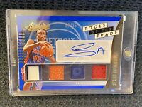 Sekou Doumbouya 🔥 10/25 🔥 2019-20 Absolute RPA 4 Patch 5 Color Rookie Auto