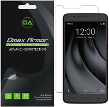 6-Pack Dmax Armor HD Clear Screen Protector shield for T-Mobile Revvl Plus