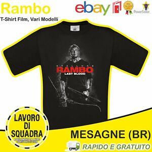 T-Shirt - John Rambo - Last Blood First Blood Stallone Evolution Film 2019 Regal