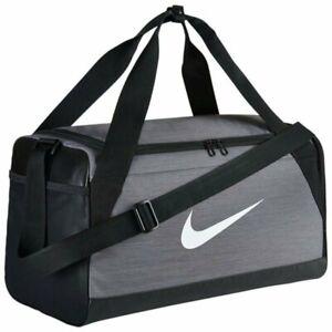 NIKE Brasilia Training Duffel Bag | Grey | BA5334 064 | NWT