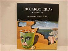 Catalogo ARTE SURREALISTA FUTURISTA: RICCARDO RICAS opere 1929-1994 con dedica