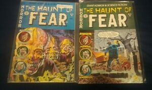 THE HAUNT OF FEAR #1-2 - NM - (1991, EC Comics, Gladstone) Bill Gaines/Feldstein