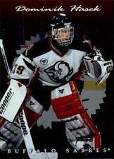 1996-97 Donruss Elite Buffalo Sabres Hockey Card #37 Dominik Hasek