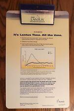 LANTUS Drug Rep Long Clip Board Clipboard Promotional Pharma Pharmaceutical RARE