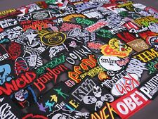 Wholesale Iron on Patch RANDOM 30 PIECE Music Metal Rock Band Sew Embroidered
