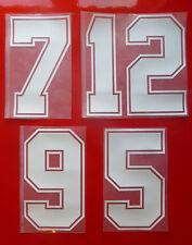 Flock Nummer number número home Trikot jersey shirt Spanien Spain Espana 1986-90