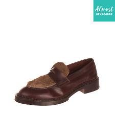Rrp €1175 Santoni Edited By Marco Zanini Leather Loafer Shoes Eu 44 Uk 10 Us 11