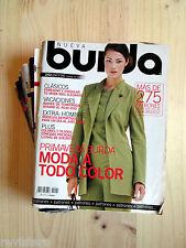 BURDA 2001-2006 █ Elige 1 Revista de Patronajes! Moda Costura Patrones Modelos