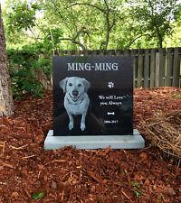 Stand for Tombstone pet stone, dog stone 12x6, 12x8, 12x10, 12x12