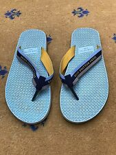 Louis Vuitton Men's Sandals prisonniers Canvas Flip Flop UK 9 US 10 UE 43 shoes
