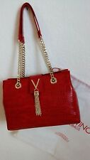 VALENTINO LADIES GORGEOUS CLASSIC CLUTCH AND SHOULDER DESIGNER STRAP CHAINS BAG