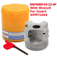 RAP 400R 63mm Milling Cutter For APKT 1604 Insert Lathe Face Mill