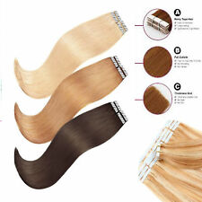 "Brazilian Extra Thick Tape in 100% Human Hair Extensions best 16""-24"" 20/40PCS"