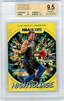 2019-20 NBA Hoops Luka Doncic High Voltage BGS 9.5 SP Foil Dallas Mavericks