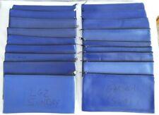 Vinyl Zippered Bank Deposit Bag *Choose Quantity*