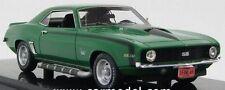 1:43* Highway 61 43005*Chevrolet Camaro SS 1969 Green Black Stripe*OVP