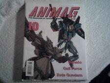 ANIMAG # 10 1990 MAGAZINE OF JAPANESE ANIMATION  in English  FORCE ZETA GUNDAM