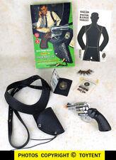 Mattel Detective Snub Nose 38 & shoulder holster in original box + badge/ID card