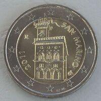 2 Euro Kursmünze San Marino 2011 unz