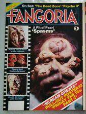 fangoria no 28 rare the deadly spawn psycho 2 the dead zone spasms