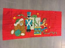 Vintage Christmas Toys Large Banner Flag 3' x 6'