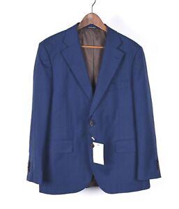 New Suit Supply Lazio Single Breasted Blue Men Blazer Jacket Size 27-44S