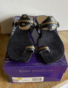 Enzo Angiolini Leather Sandals Size 7 BNIB