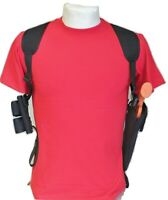 Shoulder Holster for Ruger New Blackhawk 44 6 1/2 with Double Speedloader Pouch