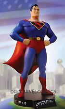 DC DIRECT SUPERMAN CLASSIC ANIMATION MAQUETTE STATUE  FLEISCHERS STUDIOS 1940'S