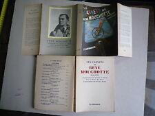 1951 LES CARNETS DE RENE MOUCHOTTE 1940 1943 GROUPE ALSACE CHEZ FLAMMARION