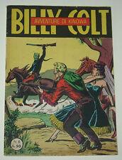 "KINOWA albo d' Oro "" Billy Colt"" III° serie n.6  Ed. Dardo 1953  !!!!!"
