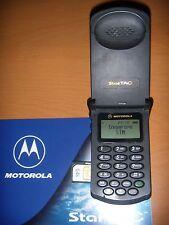 MOTOROLA STARTAC 130 GSM ESEMPLARE UNICO ORIGINALE PERFETTO + BATTERIA ORIGINALE