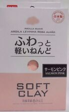 DAISO Soft Clay SALMON PINK 1 pack  Lightweight Modeling Air Dry clay from japan