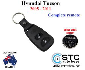 Hyundai Tucson Complete remote key fob 2005 2006 2007 2008 2009 2010 2011