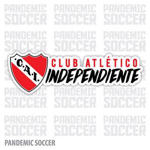 4 Pack - Independiente Argentina Vinyl Sticker Decal Calcomania Avellaneda