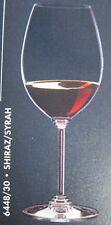 """RIEDEL AUSTRIA CRYSTAL 2 WINE GLASSWARE GLASSES SET NIB  """"SYRAH"""" NIB 9 3/4"""""""