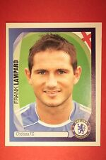 PANINI CHAMPIONS LEAGUE 2007/08 N. 137 LAMPARD CHELSEA WITH BLACK BACK MINT!!