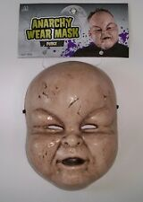 ADULT BABY PUDGE CHUBBY PUDGY CHEEKS TODDLER CREEPY DOLL MASK COSTUME MR039142