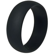 Size 5-15 Silicone Rubber Ring Band Wedding Engagement Sports Crossfit Fexible