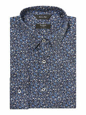 Paul Smith London RRP$285 Floral Tailored Fit Shirt UKEUR15.5/39 Made In Italy