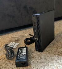 Dell OptiPlex 3050 Micro i5-7500T@2.70GHz 8GB RAM 256GB SSD Win10Pro**WARRANTY**