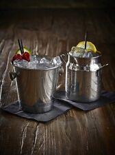 Mini Batidora de Leche de Acero Inoxidable 16oz drinkware Bar cócteles Gafas pub Barware