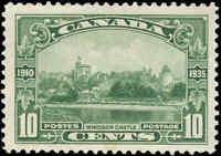 1935 Mint Canada F+ Scott #215 10c King George Silver Jubilee Stamp Hinged